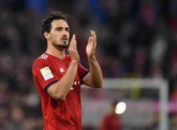 Mats Hummels va retourner à Dortmund où il sera l'équipier de Witsel et Thorgan Hazard
