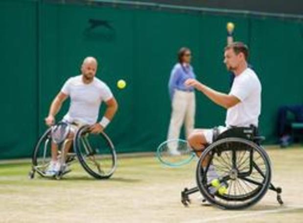 US Open - Joachim Gérard éliminé en demi-finale du double en chaise roulante