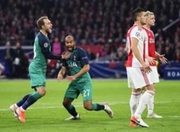 Champions League - Tottenham schakelt Ajax uit na alweer onwaarschijnlijke voetbalavond en hattrick van Lucas