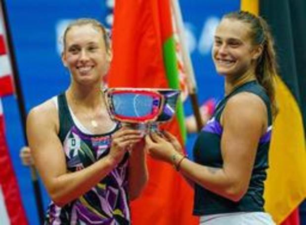 """Elise Mertens """"honorée"""" de participer au Masters de double à Shenzhen"""