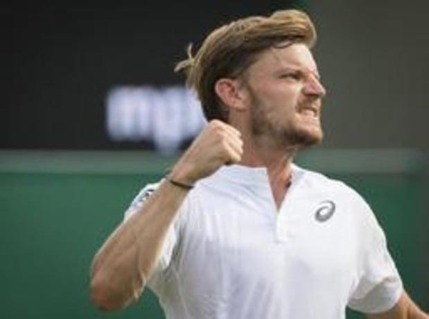 """Wimbledon - Vainqueur en 5 sets, Goffin est """"très fier"""" de la manière dont il s'est battu"""