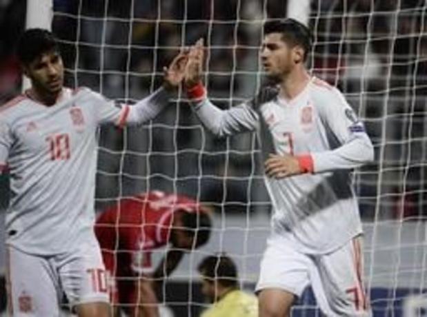 Qualifications Euro 2020 - L'Espagne en tête du groupe F malgré une petite victoire à Malte