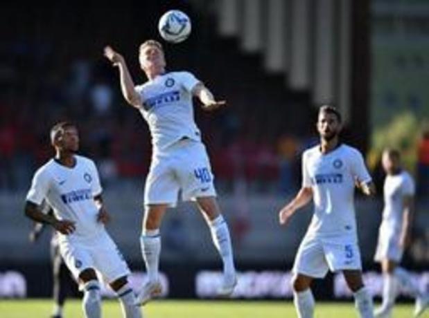 Waasland-Beveren huurt Xian Emmers van Inter Milaan