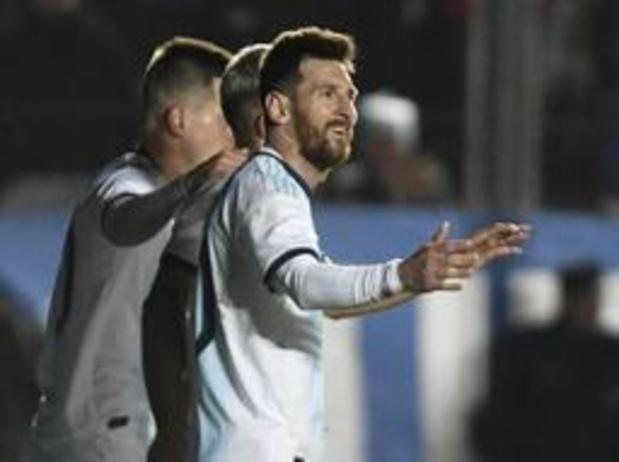 Copa America - Messi leidt Argentinië met twee goals voorbij Nicaragua in oefenduel
