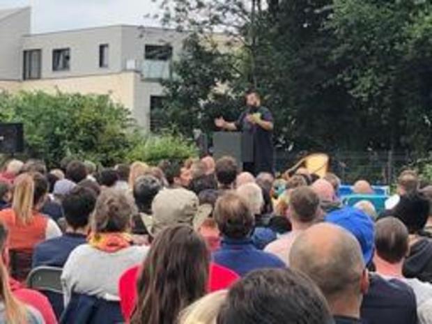 Plus de 500 personnes ont assisté au spectacle de Dieudonné à Verviers