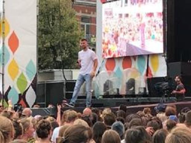 "Arsenal bezorgt Tiens stadsfestival Suikerrock een ""stomende"" start"