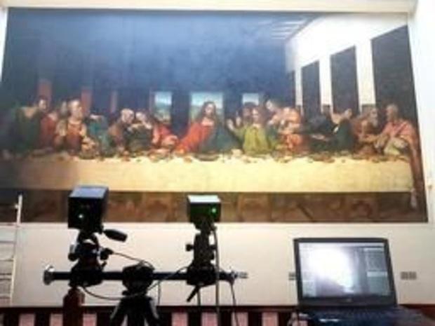 """""""85% de certitude"""" que Léonard de Vinci a mis la main à la Cène de l'abbaye de Tongerlo"""