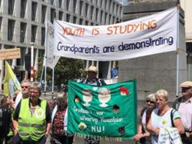 """Les grands-parents pour le climat demandent """"une loi climatique ambitieuse et juste"""""""