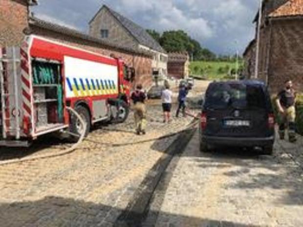 Brandweer ontvangt 150 oproepen voor wateroverlast in regio Sint-Truiden