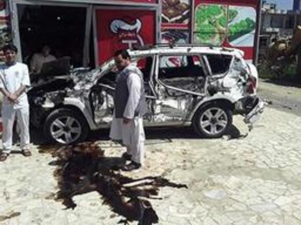 Zeker vier mensen gedood bij aanslag in Kaboel
