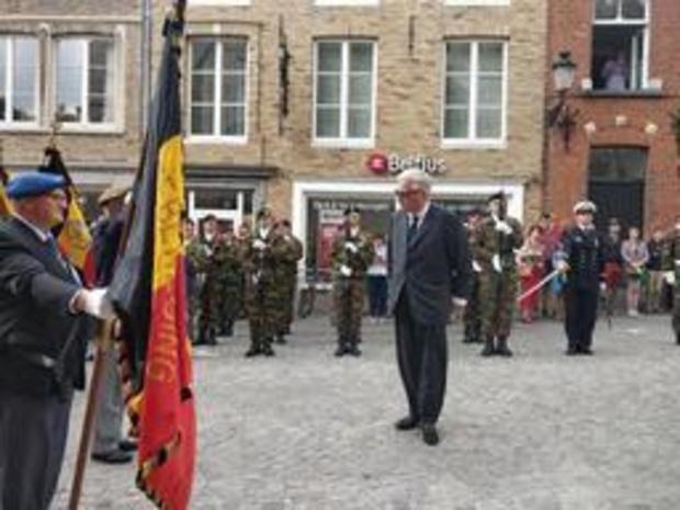 Le prince Laurent assiste au Te Deum à Bruges