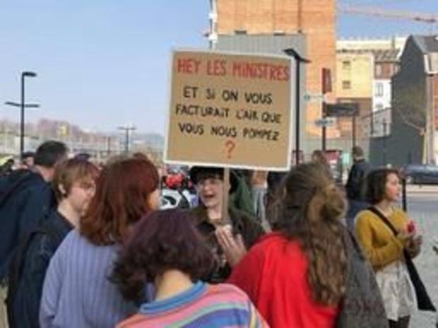 Meer dan 2.000 klimaatbetogers in Luik