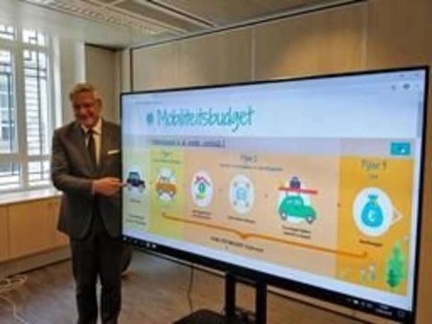 Le gouvernement lance un site web consacré au budget mobilité