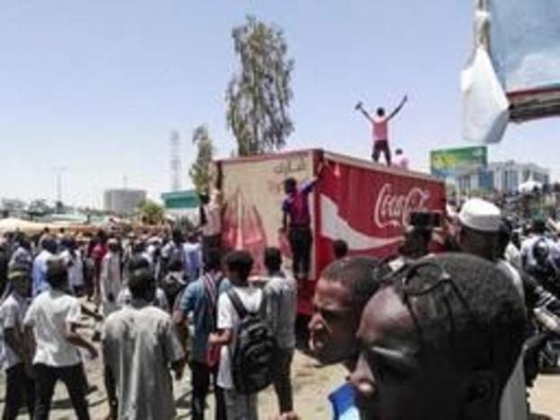 Manifestanten willen met leger praten over transitie in Soedan