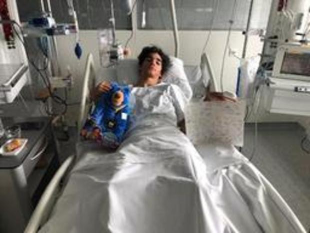 EK baanwielrennen voor junioren en beloften - Italiaanse wielrenner die stuk hout in lichaam kreeg mag volgende week naar huis