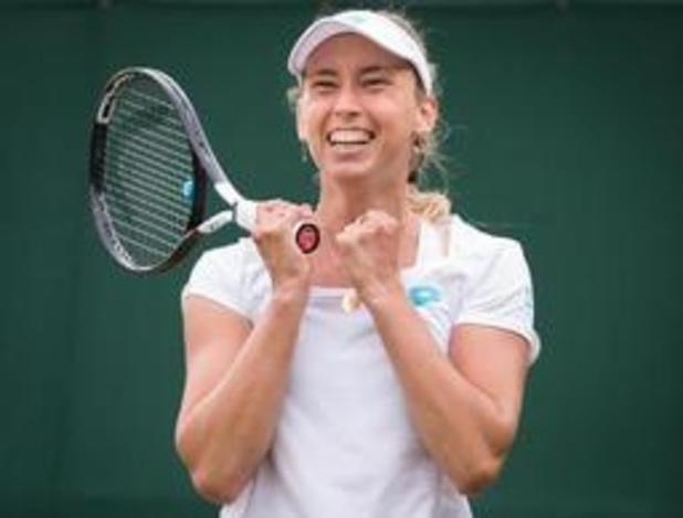 """Wimbledon - Mertens genoot van elke minuut tegen Wang: """"Wat een gevecht"""""""