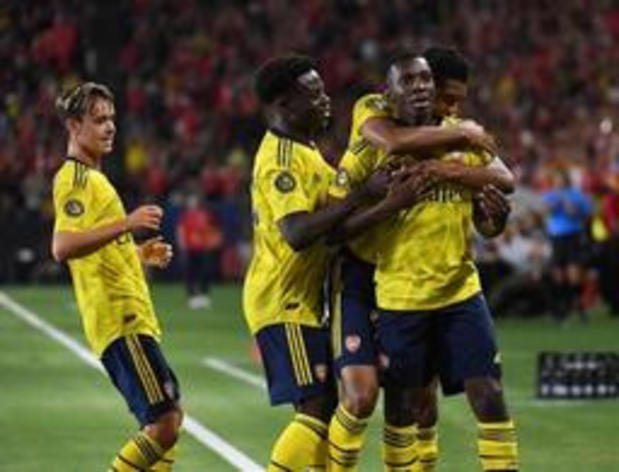 Arsenal troeft Bayern München af in International Champions Cup