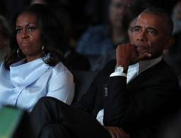 De Obama's gaan podcasts maken