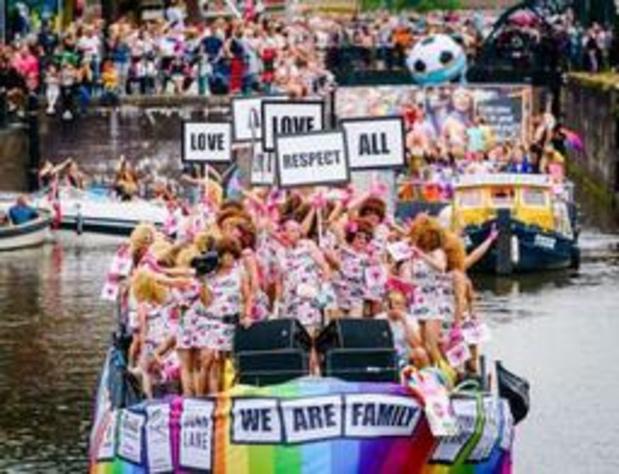 """Canal Pride Amsterdam """"vlekkeloos"""" verlopen"""
