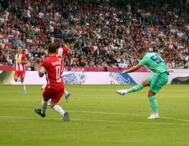 Belgen in het buitenland - Eden Hazard is trots op eerste goal voor Real Madrid