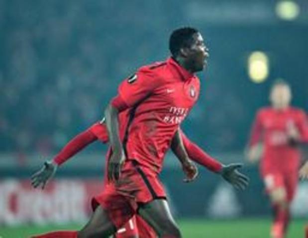 L'attaquant nigérian Paul Onuachu (FC Midtjylland) signe à Genk