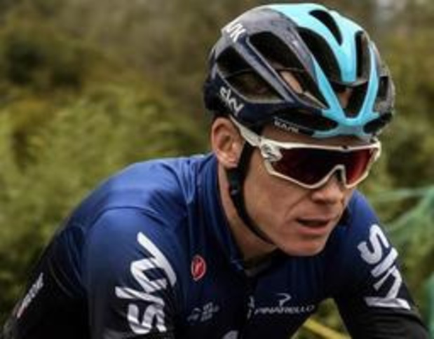 Froome is terug thuis na zware val
