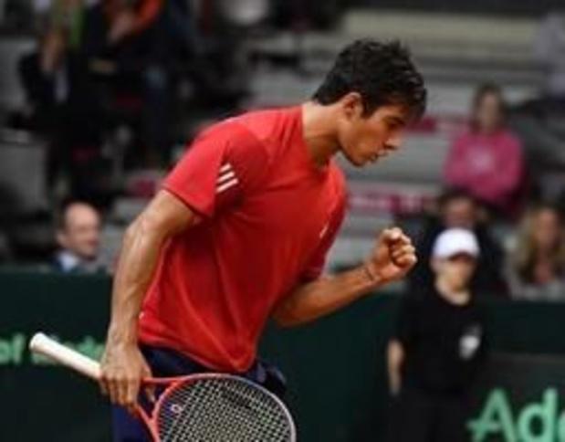 ATP Houston - Chileen Garin steekt eerste eindzege op zak