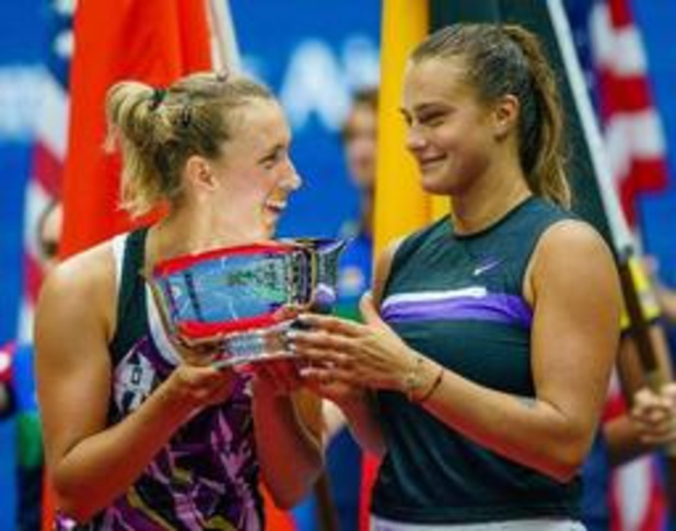 """US Open - Mertens na haar dubbelzege: """"Een Grand Slam winnen, dat is reusachtig"""""""