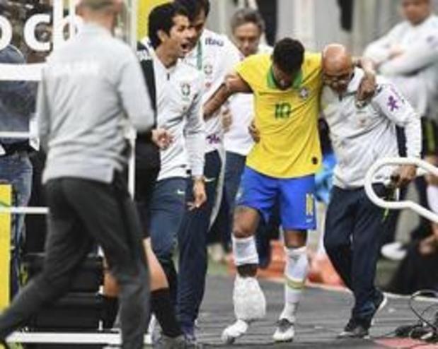 Neymar mist Copa America door enkelblessure