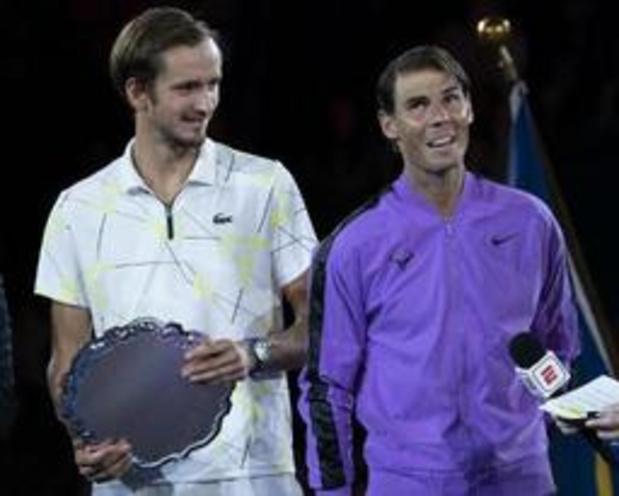 """US Open - Nadal na titel: """"Hij dwong me tot het uiterste"""""""