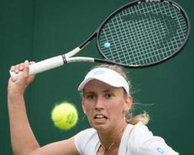 Elise Mertens élimine Qiang Wang et atteint ses premiers huitièmes de finale à Wimbledon