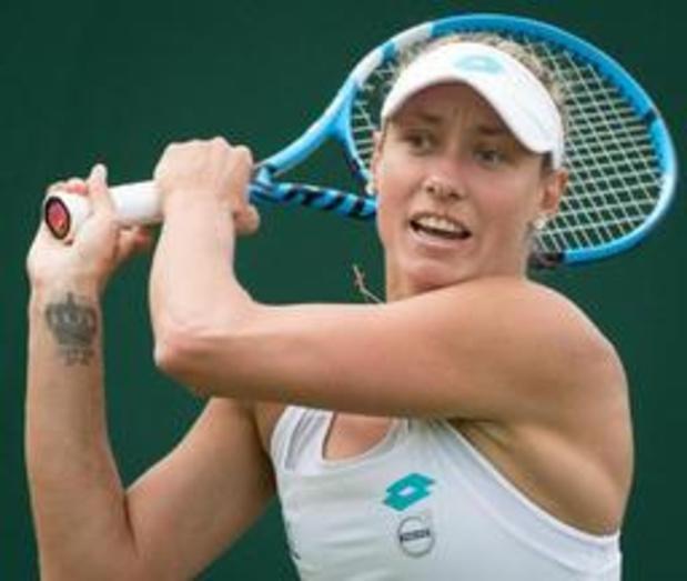 "Wimbledon - Yanina Wickmayer: ""Ben op de goede weg"""