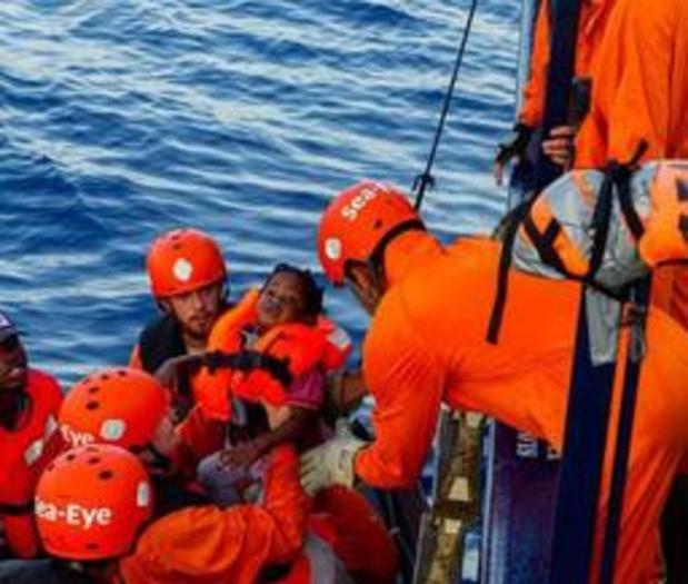 Reddingsschip Alan Kurdi nog steeds op zoek naar haven