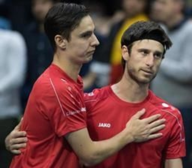ATP Winston-Salem - Sander Gille et Joran Vliegen en demi-finales du double