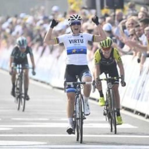 Marta Bastianelli triomfeert bij de vrouwen