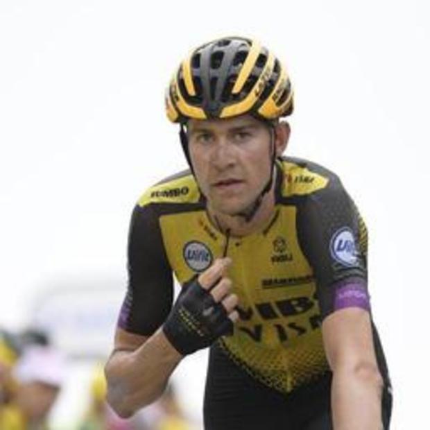 Abandon du Néerlandais Steven Kruijswijk au Tour d'Espagne
