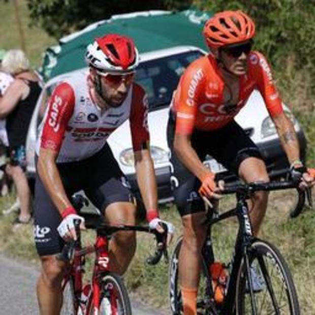 Tour de France - De Marchi houdt verschillende breuken over aan valpartij