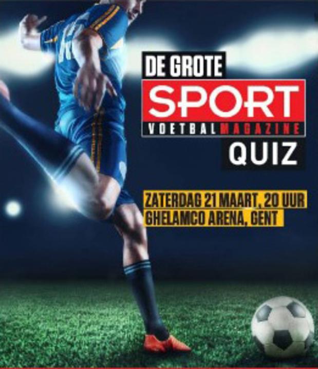 Laatste plaatsen voor Sport/Voetbalmagazine Quiz!