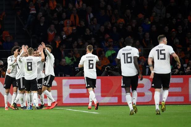 Au bout du suspense, l'Allemagne remporte le choc face aux Pays-Bas
