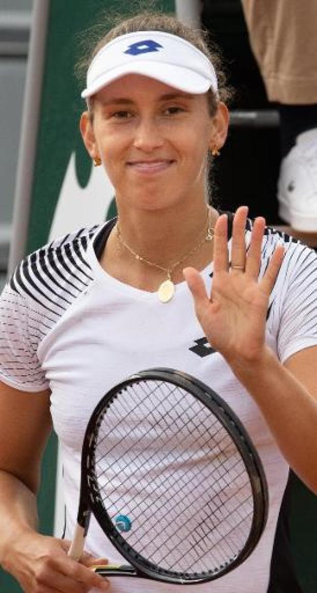 """Roland Garros - Mertens na zege tegen Kanepi: """"Ik wist dat ik haar onder druk moest houden"""""""