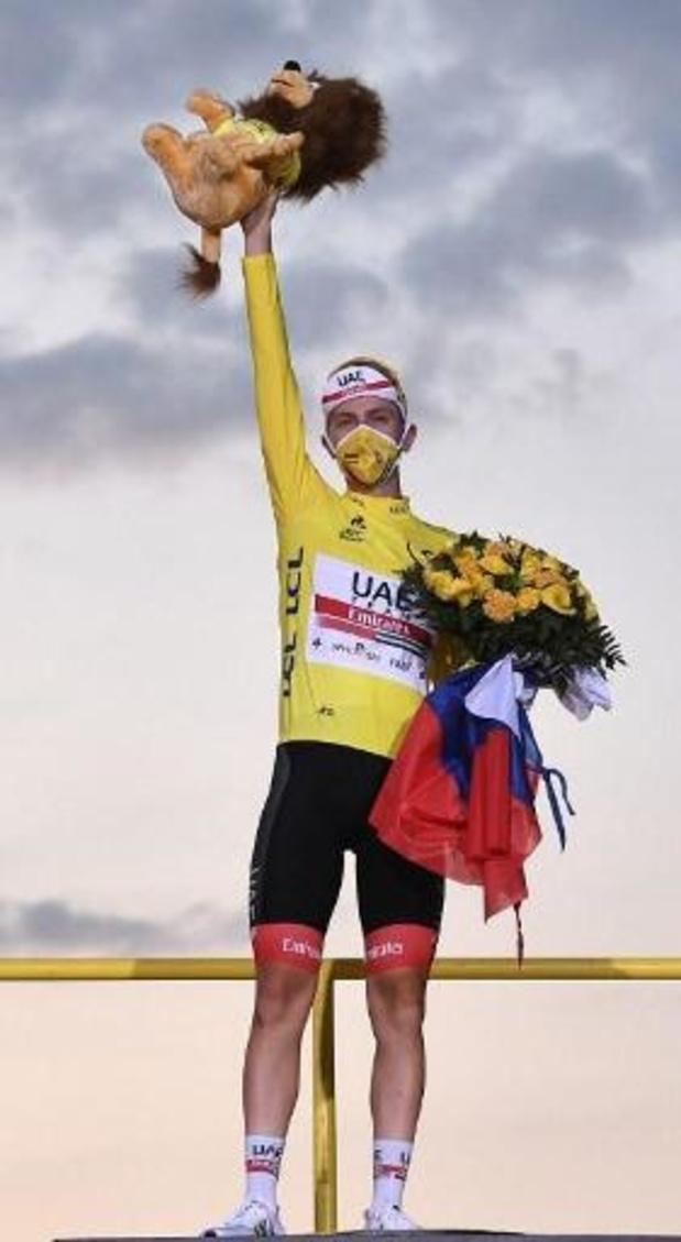 """Tourwinnaar Pogacar: """"Mijn team heeft een stap vooruit gezet"""""""