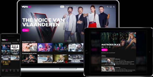 VTM  bundelt alles in nieuw streamingplatform