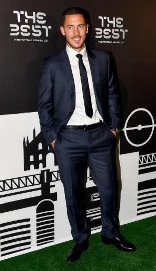 The Best FIFA Football Awards - Eden Hazard achtste