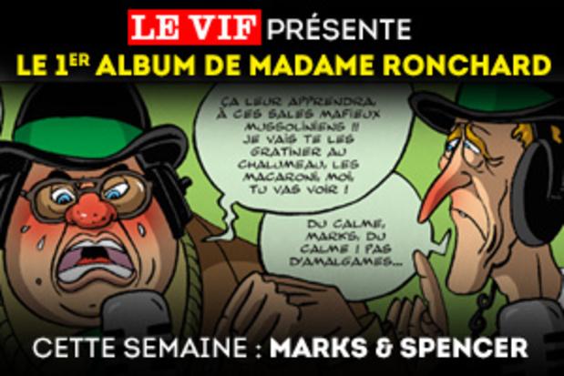 Cette semaine, dans l'album de Madame Ronchard : Marks & Spencer