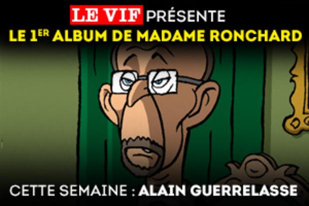 Cette semaine, dans l'album de Madame Ronchard : Alain Guerrelasse