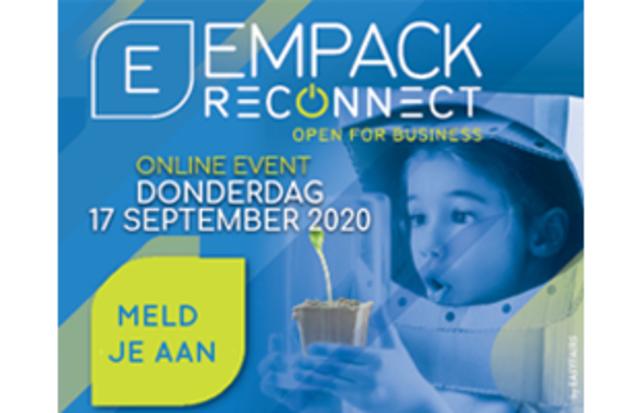 Empack Reconnect; de eerste online vakbeurs