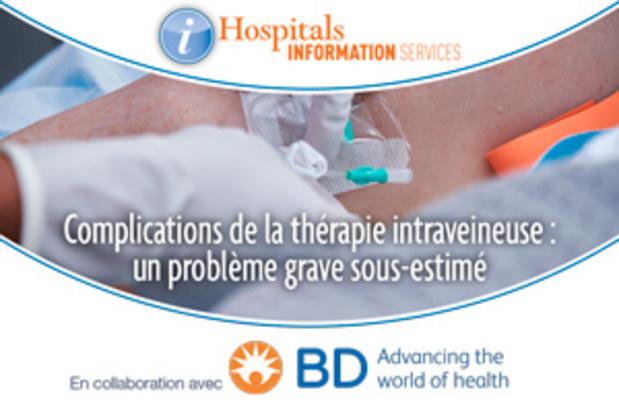 Complications de la thérapie intraveineuse : un problème grave sous-estimé