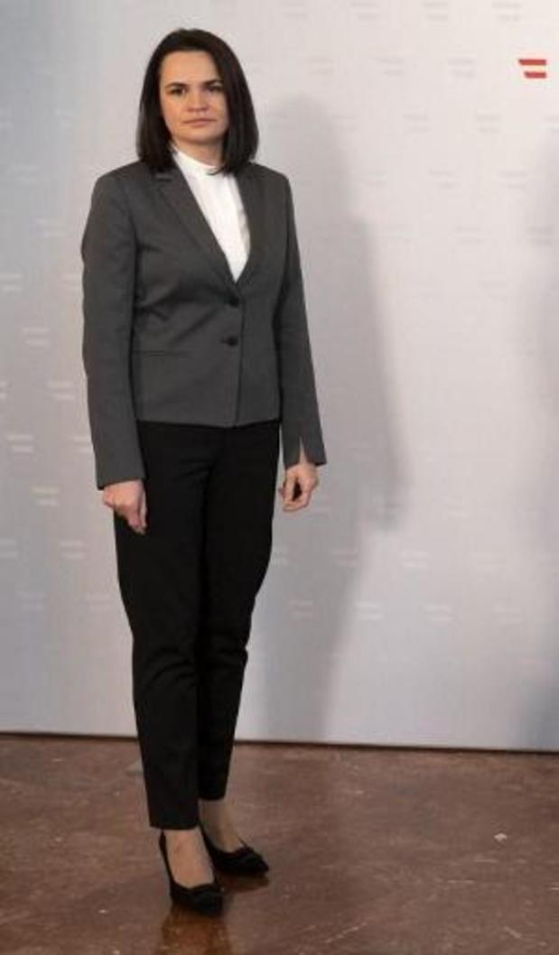 Présidentielle américaine 2020 - La dirigeante de l'opposition au Bélarus félicite Biden et espère le rencontrer