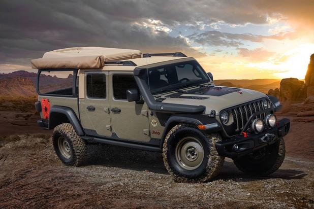 Jeep Gladiator Wayout, le rêve du campeur aventurier