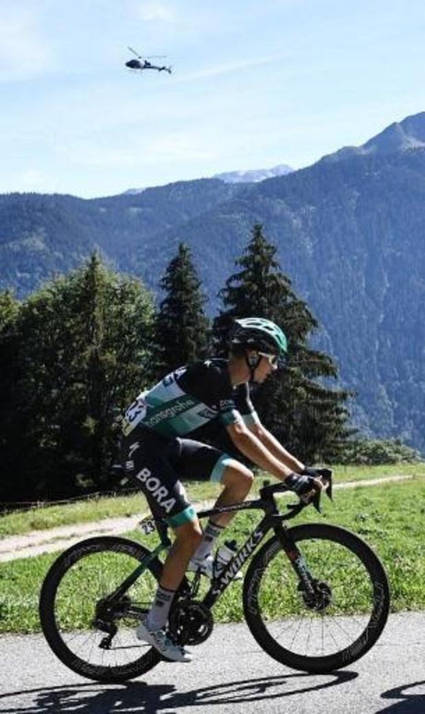 Lennard Kämna s'impose en solo à Megève, Primoz Roglic reste en jaune
